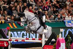 MOTHES Michelle (GER), Lancaster<br /> Leipzig - Partner Pferd 2019<br /> IDEE Kaffe Preis<br /> CSI5*<br /> 18. Januar 2019<br /> © www.sportfotos-lafrentz.de/Stefan Lafrentz