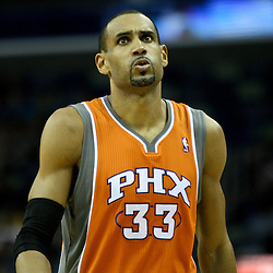 April 8, 2011; New Orleans, LA, USA; Phoenix Suns small forward Grant Hill (33) during the fourth quarter against the New Orleans Hornets at the New Orleans Arena. The Hornets defeated the Suns 109-97.   Mandatory Credit: Derick E. Hingle