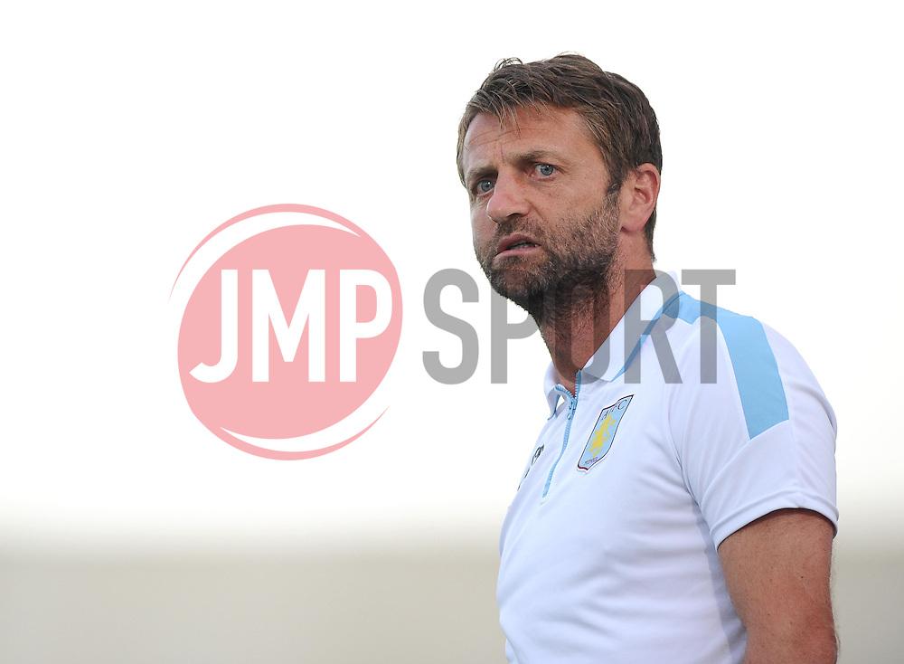 Aston Villa Manager, Tim Sherwood  - Photo mandatory by-line: Joe Meredith/JMP - Mobile: 07966 386802 - 17/07/2015 - SPORT - Football - Albufeira - Estadio Da Nora - Pre-Season Friendly