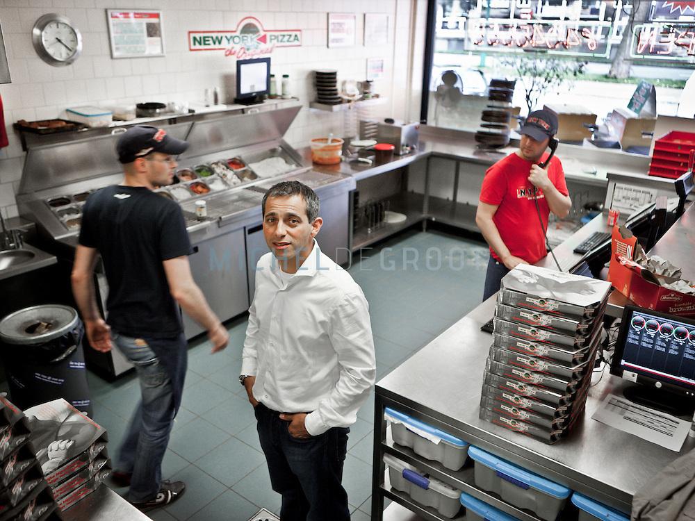 Philippe Voorst, oprichter van New York Pizza