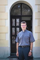 Portrait of Franc Zorec in Bakovci, Murska Sobota, Slovenia. Photo by Blaž Weindorfer / Sportida
