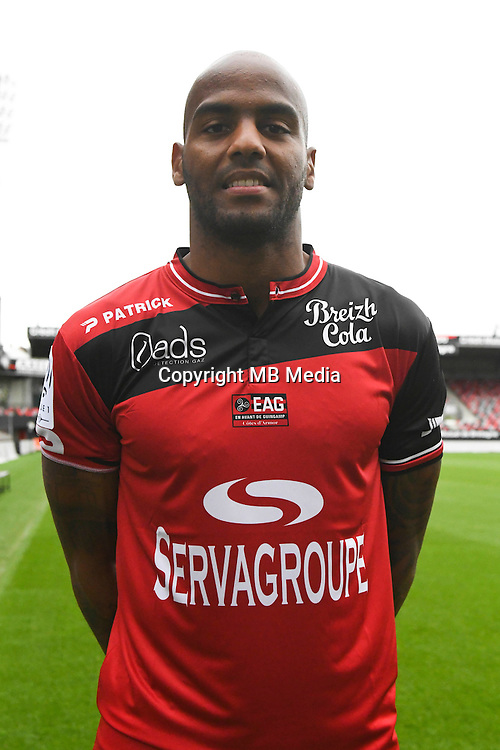Jimmy Briand of Guingamp during the Photo shooting of En Avant Guingamp on september 27th 2016<br /> Photo : Philippe Le Brech / Icon Sport