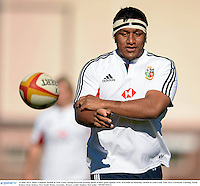 13 June 2013; Mako Vunipola, British & Irish Lions, during forwards training ahead of their game against NSW Waratahs on Saturday. British & Irish Lions Tour 2013, Forwards Training, North Sydney Oval, Sydney, New South Wales, Australia. Picture credit: Stephen McCarthy / SPORTSFILE