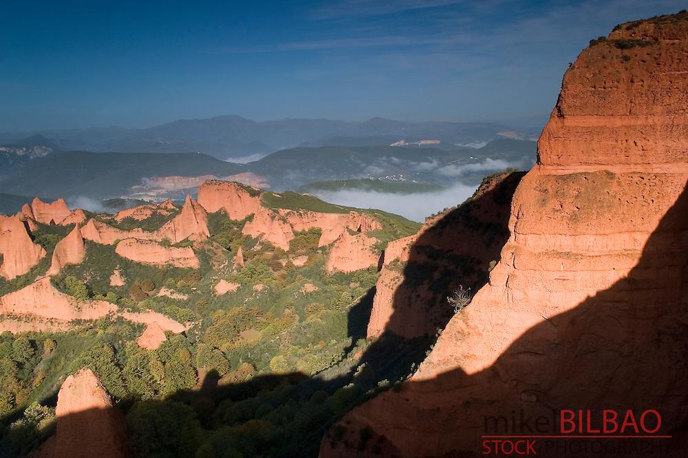 Las Medulas Cultural Park (UNESCO World Heritage Site). El Bierzo region. Leon. Castile and Leon. Spain, Europe