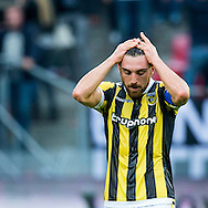 UTRECHT, FC Utrecht - Vitesse, voetbal, Eredivisie seizoen 2015-2016, 13-09-2015, Stadion De Galgenwaard, teleurstelling bij Vitesse speler Guram Kashia na de nederlaag.