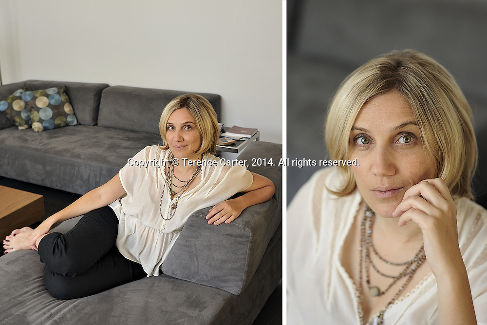 Sandrine Rastello, journalist and actor. Copyright 2014 Terence Carter / Grantourismo. All Rights Reserved.