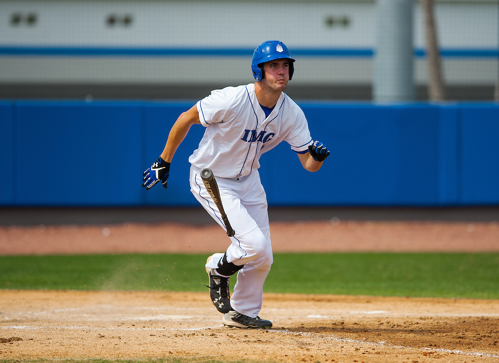 IMG PG baseball team plays in Bradenton, Fla., on Wednesday, March 2, 2016.  IMG is the world's largest and most advanced multi-sport and education complex for youth, collegiate, professional and adult athletes. / (March 2, 2016; IMG Photo by Casey Brooke Lawson)