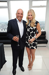 MARISSA MONTGOMERY and DAVID REUBEN at The Reuben Foundation and Virgin Unite Haiti Fundraising dinner held at Altitude 360 in Millbank Tower, London on 26th May 2010.