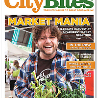 CityBites- Harvest 2011 cover featuring photo of Joel MacCharles of WellPreserved