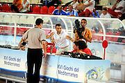DESCRIZIONE : Teramo Giochi del Mediterraneo 2009 Mediterranean Games Italia Turchia Italy Turkey Preliminary Men<br /> GIOCATORE : Arbitro Referee<br /> SQUADRA : <br /> EVENTO : Teramo Giochi del Mediterraneo 2009<br /> GARA : Italia Turchia Italy Turkey<br /> DATA : 30/06/2009<br /> CATEGORIA : ritratto<br /> SPORT : Pallacanestro<br /> AUTORE : Agenzia Ciamillo-Castoria/G.Ciamillo