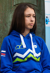 Mikuz Metka during press conference of Slovenian national cycling team before world championship in Yorkshire, Great Britain. Press conference held in Dvor Jezersek, on 17th of September, 2019, Kranj, Slovenia. Photo by Grega Valancic / Sportida