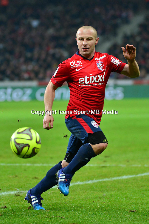 Florent BALMONT  - 24.01.2015 - Lille / Monaco - 22eme journee de Ligue1<br />