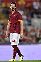 Davide Astori Roma.<br /> Roma 19-08-2014 Stadio Olimpico. Football Calcio 2014/2015.Incontro amichevole AS Roma - Fenerbahce. Foto Antonietta Baldassarre / Insidefoto<br /> Fiorentina captain Davide Astori dies suddenly aged 31 . <br /> Astori was staying a hotel with his team-mates ahead of their game on Sunday away at Udinese when he passed away. <br /> Foto Insidefoto