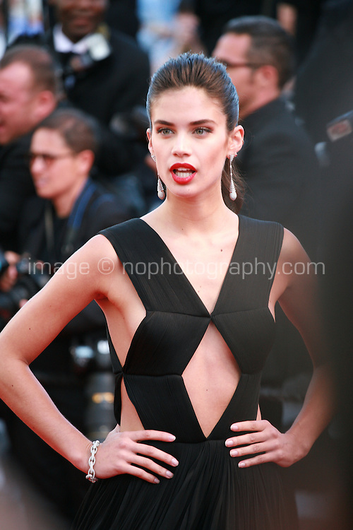 Sara Sampaio at the gala screening for the film Inside Out at the 68th Cannes Film Festival, Monday May 18th 2015, Cannes, France