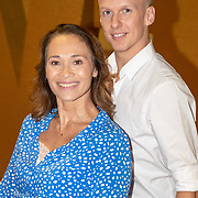 NLD/Aalsmeer/20190902 - fotomoment Dancing with the Stars 2019, Bibian Mentel & Joost Findhammer