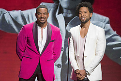 August 6, 2017 - New Jersey, U.S - LAZ ALONZO, and JUSSIE AMOLLETT at the 2017 Black Girls Rock awards show. Black Girls Rock 2017 was held at the New Jersey Performing Arts Center in Newark New Jersey. (Credit Image: © Ricky Fitchett via ZUMA Wire)