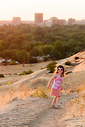 Young girl at Camels Back Park.