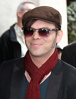 Gaz Coombes; Supergrass Ivor Novello Awards, Grosvenor House Hotel, Park Lane, London, UK, 19 May 2011:  Contact: Rich@Piqtured.com +44(0)7941 079620 (Picture by Richard Goldschmidt)