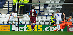 PRESTON, ENGLAND - Saturday, September 24, 2011: Preston North End's Graham Alexander scores their first half goal against Tranmere Rovers from the penalty spot during the Football League One match at Deepdale. (Pic by Dave Kendall/Propaganda)