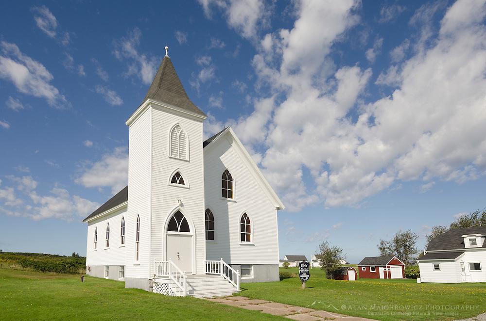 Calvin United Church, Margaree Harbour, Nova Scotia