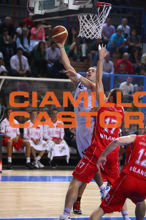 DESCRIZIONE :  Cremona  Lega A 2010-2011 Amichevole Vanoli Braga Cremona Armani Jeans Milano <br /> <br /> GIOCATORE :  Marko Milic<br /> <br /> SQUADRA :  Vanoli Braga Cremona<br /> <br /> EVENTO : :  Campionato Lega A 2010-2011<br /> <br /> <br /> GARA : Vanoli Braga Cremona Armani Jeans Milano<br /> <br /> DATA : 07/10/2010<br /> <br /> CATEGORIA : Tiro<br /> <br /> SPORT : Pallacanestro<br /> <br /> AUTORE : Agenzia Ciamillo-Castoria/F.Zovadelli<br /> <br /> GALLERIA : Lega Basket A 2010-2011<br /> <br /> FOTONOTIZIA : :  Cremona  Lega A 2010-2011 Amichevole Vanoli Braga Cremona Armani Jeans Milano<br /> <br /> PREDEFINITA :