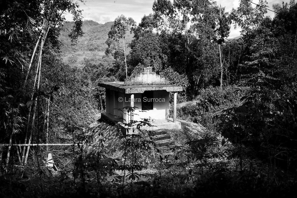 Batutumonga, 17 mars 2012. Une patane, tombe moderne toraja.