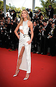 KARLIE KLOSS   - OPENING THE 68th CANNES FILM FESTIVAL - RED CARPET ' HIGH HEAD '<br /> ©Exclusivepix Media