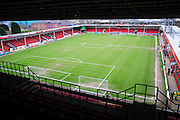 The Banks's Stadium, Walsall prior to the Sky Bet League 1 match between Walsall and Wigan Athletic at the Banks's Stadium, Walsall, England on 20 February 2016. Photo by Mike Sheridan.