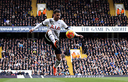 Kyle Walker of Tottenham Hotspur controls the ball - Mandatory byline: Robbie Stephenson/JMP - 28/02/2016 - FOOTBALL - White Hart Lane - Tottenham, England - Tottenham Hotspur v Swansea City - Barclays Premier League
