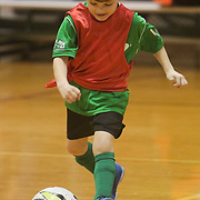 Sawyer Reese dribbles Sunday January 18, 2015 at the Wilmington Family YMCA. (Jason A. Frizzelle)