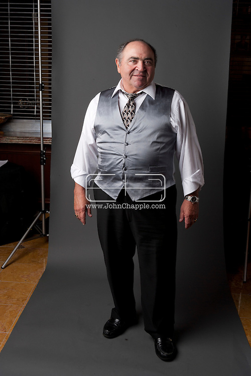 24th February 2011. Las Vegas, Nevada.  Celebrity Impersonators from around the globe were in Las Vegas for the 20th Annual Reel Awards Show. Pictured is a Danny DeVito Impersonator. Photo © John Chapple / www.johnchapple.com..
