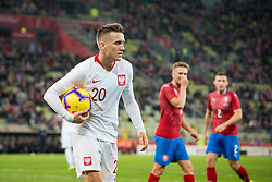 November 15, 2018 - Gdansk, Pomorze, Poland - Piotr Zielinski (20) during the international friendly soccer match between Poland and Czech Republic at Energa Stadium in Gdansk, Poland on 15 November 2018  (Credit Image: © Mateusz Wlodarczyk/NurPhoto via ZUMA Press)