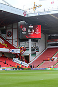 Bramall Lane view during the EFL Sky Bet Championship match between Sheffield United and Nottingham Forest at Bramall Lane, Sheffield, England on 17 March 2018. Picture by Mick Haynes.