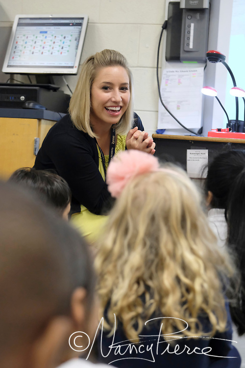 Kelsey Zoda is Teacher of the Year at Collinswood K-8 Academy. .