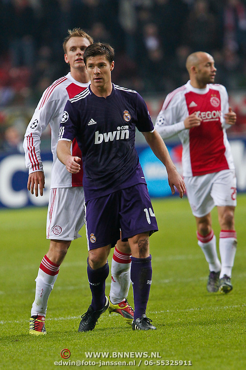 NLD/Amsterdam/20101123 - Ajax - Real Madrid, Xabi Alonso (14)