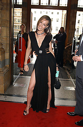 TARA PALMER-TOMKINSON at the opening party for Diamonds - a new exhibition at The Natural History Museum, London in association with De Beers held on 6th July 2005.<br /><br />NON EXCLUSIVE - WORLD RIGHTS
