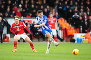 Sam Morsy of Wigan Athletic during the Sky Bet League 1 match between Walsall and Wigan Athletic at the Banks's Stadium, Walsall, England on 20 February 2016. Photo by Mike Sheridan.