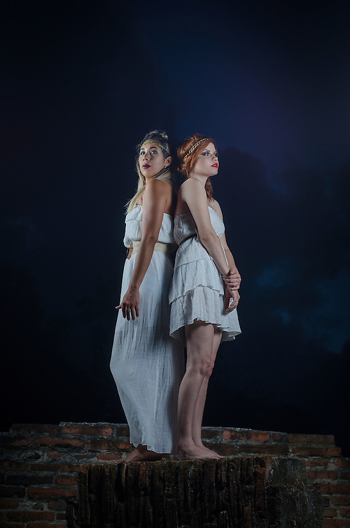 Models Susanne and Yomayra at Patillas, Puerto Rico. (2016)