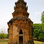 Prasat Si Khoraphum khmer sanctuary at Tambon Ra-ngaeng at Surin Province in Thailand. The site was built around the 17th Buddhist century.