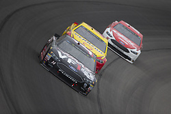 June 10, 2018 - Brooklyn, Michigan, United States of America - Clint Bowyer (14) races off turn one during the FireKeepers Casino 400 at Michigan International Speedway in Brooklyn, Michigan. (Credit Image: © Stephen A. Arce/ASP via ZUMA Wire)