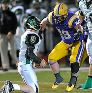 Medina Highland at Avon in varsity football action on November 4, 2011.
