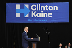PITTSBURGH, PA - OCTOBER 25: Vice President Joe Biden speaks to the crowd during a Get Out To Vote rally at Chatham University on October 25, 2016 in Pittsburgh, Pennsylvania (Photo Credit: Justin Berl)