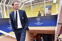 02.05.2017 - Conferenza stampa e sopralluogo di  vigilia di Monaco-Juventus, Champions League    Nella foto:  Massimiliano Allegri