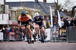 Mieke Kröger (GER) in the break on the final lap at Healthy Ageing Tour 2019 - Stage 2, a 134.4 km road race starting and finishing in Surhuisterveen, Netherlands on April 11, 2019. Photo by Sean Robinson/velofocus.com
