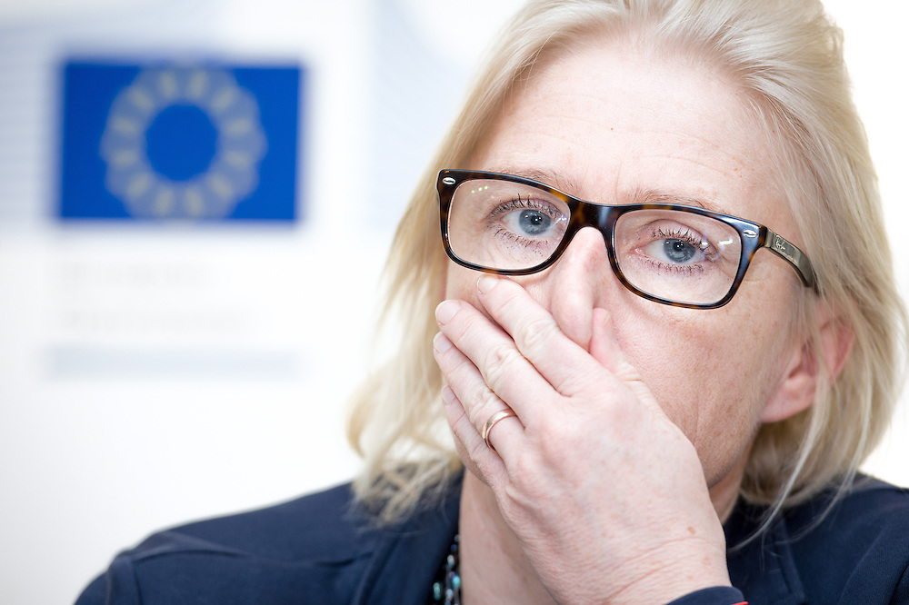 04 June 2015 - Belgium - Brussels - European Development Days - EDD - Gender - A matter of birth , life and death - Walking in the shoes of women and girls without access to water , sanitation and hygiene - Edith Schratzberger-Vecsei , Vice-President , European Women's Lobby , Medical Women's International Association © European Union