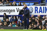 Picture by Paul Chesterton/Focus Images Ltd.  07904 640267.17/12/11.Everton Manager David Moyes during the Barclays Premier League match at Goodison Park Stadium, Liverpool.