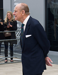In the frame  - Duke of Edinburgh.<br /> The Queen and Duke of Edinburgh open Rambert dance company's new premises in south east London, following a move from Chiswick, Rambert Dance Company, London, United Kingdom. Friday, 21st March 2014. Picture by Nils Jorgensen / i-Images