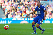Leicester City's Danny Drinkwater during the Barclays Premier League match between Stoke City and Leicester City at the Britannia Stadium, Stoke-on-Trent, England on 19 September 2015. Photo by Aaron Lupton.