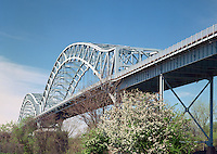Arrogoni Bridge over the Connecticut River between Portland and Middletown, CT