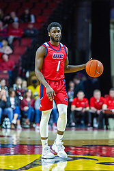 NORMAL, IL - December 18: Marcus Ottey during a college basketball game between the ISU Redbirds and the UIC Flames on December 18 2019 at Redbird Arena in Normal, IL. (Photo by Alan Look)